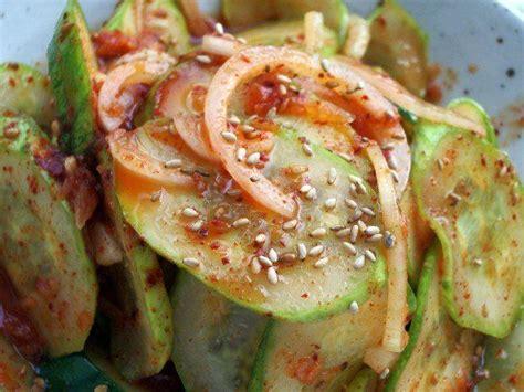spicy cucumber salad spicy korean cucumber salad recipe dishmaps