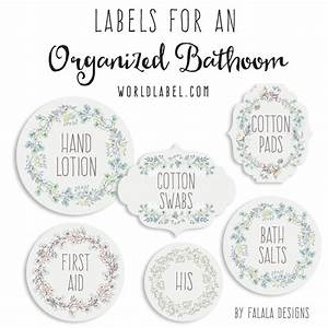 Bath and body organizing labels worldlabel blog for Bath and body labels templates