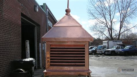 Copper Cupola And Finial