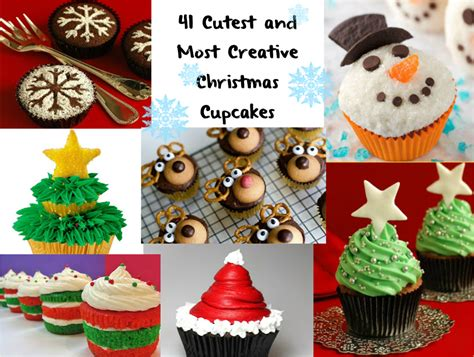 food decorations ideas for christmas food for 41 cutest and most creative cupcakes