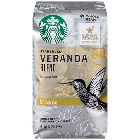 Arabica beans are the main variety of coffee beans that are consumed by the world. Starbucks Veranda Blend Whole Bean Blonde Arabica Coffee