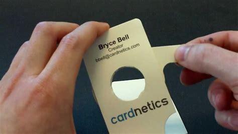 iris business card  greeting card aperture mechanism