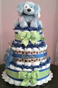 Boy Baby Shower Diaper Cake