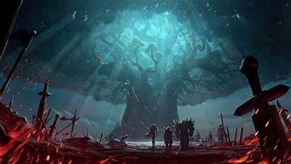 Warcraft Teldrassil Azeroth Battle Burning Jaina Warbringers