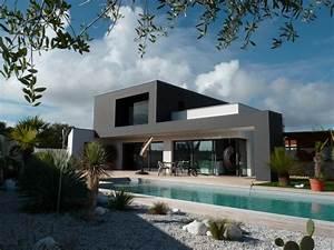 Maison En L Moderne : maison contemporaine dompierre s mer 1 julien taub ~ Melissatoandfro.com Idées de Décoration