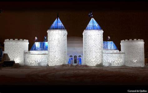 Quebec Winter Carnival Ice Castle