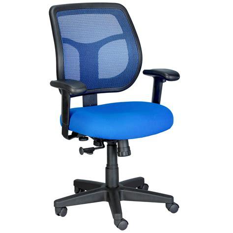 apollo mesh back swivel chair with fabric seat zuri
