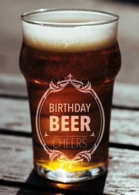 bier glas birthday beer cheers postkarte grusskarte
