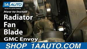 How To Install Replace Radiator Fan Blade 2002