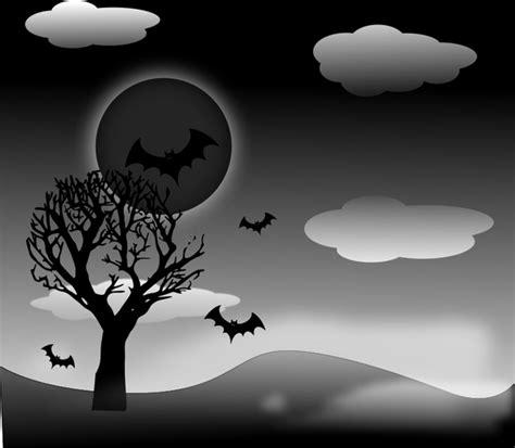 halloween landscape  vector  open office drawing svg
