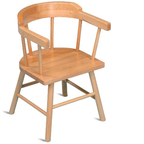miniature wooden captains chair luxcraft poly 4ft 6ft oval table set 2 with 4 table chairs