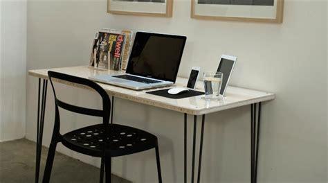 macbook bureau kickstarter un bureau conçu pour le mac avec un dock
