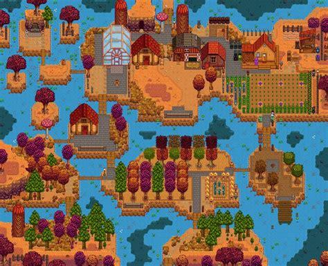 stardew valley layout ideas  pinterest