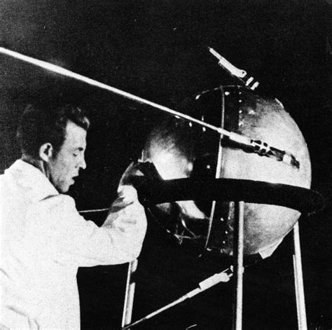 Sputnik 1 satellite was launched to space 60 years ago today