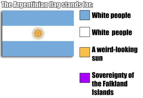 color representation argentina flag color representation parodies your