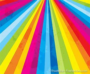 Grunge-Rainbow-Striped-Background - Free Vectors