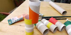 Basteln Mit Papierrollen : feinmotorik steckspiel basteln mit papierrollen ~ Buech-reservation.com Haus und Dekorationen