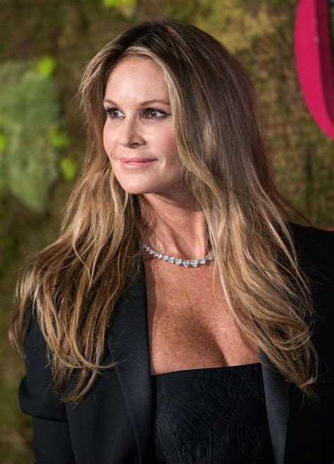 Elle Macpherson Attends The Green Carpet Fashion Awards