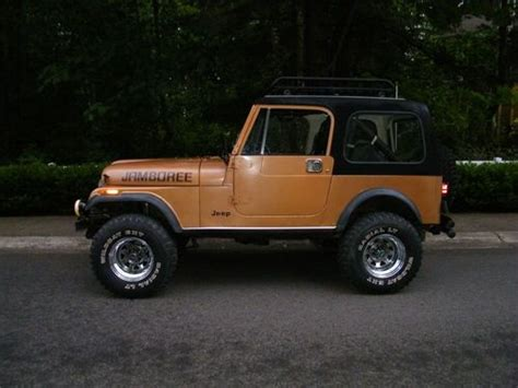 1982 jeep jamboree sell used rare commemorative jamboree 30th anniversary