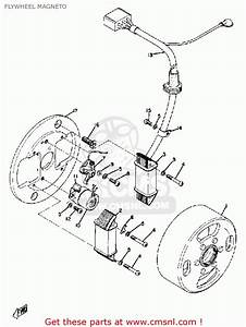 Yamaha Dt100a 1974  1975 Flywheel Magneto