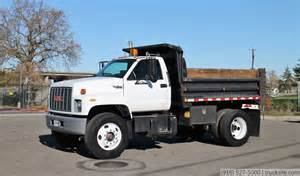 Tailgate Bench Seat by 1994 Gmc C7500 Topkick 5 Yard Single Axle Dump Truck Youtube