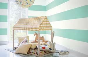 Wandfarbe Für Kinderzimmer : gr n alpina farben ~ Lizthompson.info Haus und Dekorationen