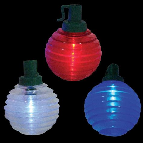 Battery Powered Light by Brite Battery Operated 10 Light Patriotic Shimmer