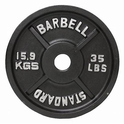 Plate Weight Olympic Barbell Usa Lbs Plates