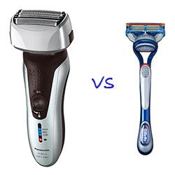 electric shaver manual razor electric shavers