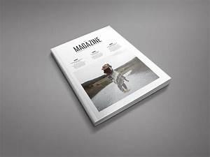 indesign magazine minimal magazine template adobe indesign templates