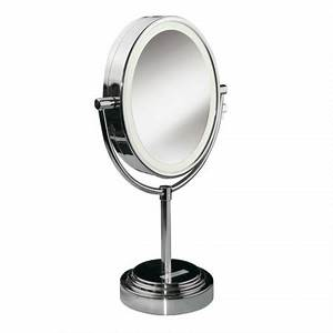 Miroir Lumineux Maquillage : miroirs miroir lumineux rond double face 8438e babyliss paris ~ Teatrodelosmanantiales.com Idées de Décoration