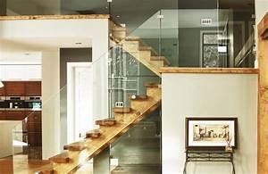 10 escaliers en bois chics et styles par marion arnoud With delightful peindre rampe escalier bois 10 prix dun escalier en bois