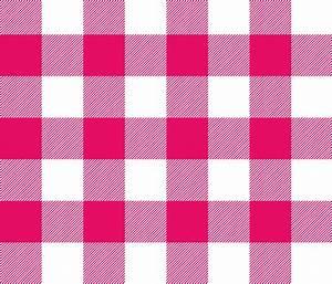 Big Buffalo Plaid - Check - fuchsia and white -- hot pink ...