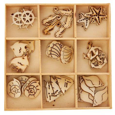 unfinished wood laser cut sea life cutouts wood cutouts