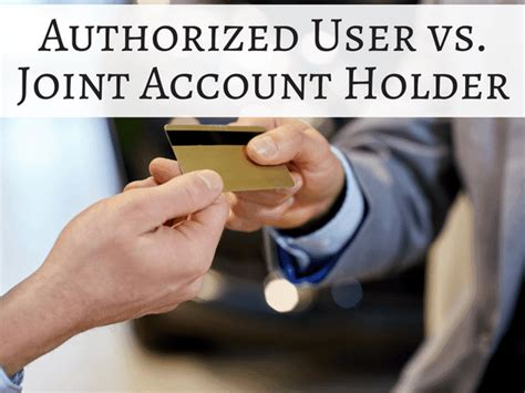 Credit card limit is the main aspect taken into consideration while buying a card. Authorized User or Joint Account - How to Add an Account Holder