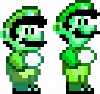 Bit Mario Transparent Clip Clipground