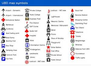 Google Search Map Symbols