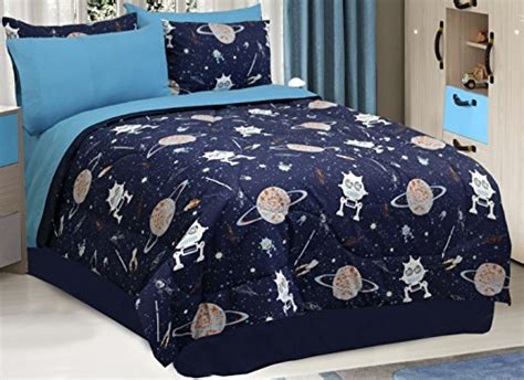 Galaxy Robot Cotton Bedding Comforter Set