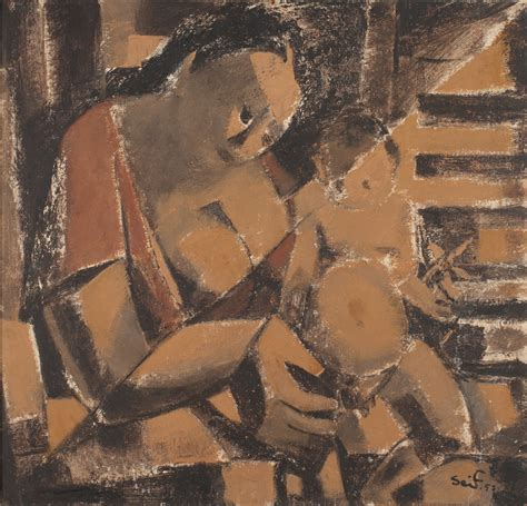 Mother and Child | Barjeel Art Foundation