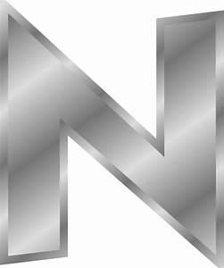 celfeuroquat letter s clipart With silver alphabet letters