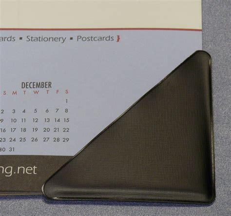 Desk Calendar Front Cornerholder Serving Distributors