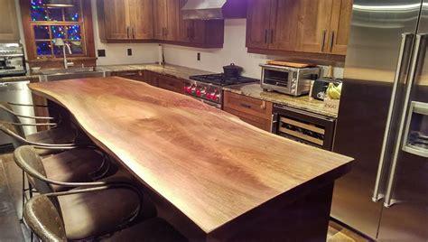 maple kitchen islands ilôt de cuisine en noyer noir black walnut kitchen