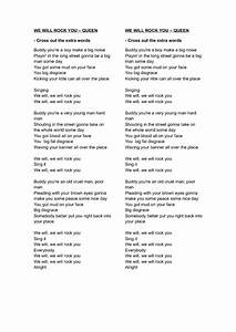 We Will Rock You Lyrics | www.pixshark.com - Images ...