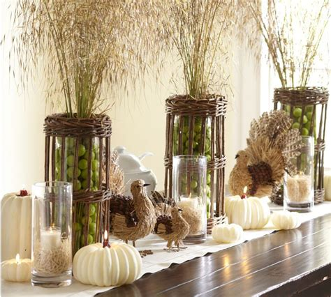 thanksgiving table decor cool turkey decorations for your thanksgiving table digsdigs