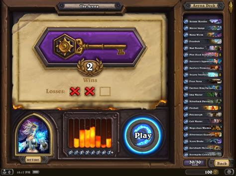 hearthstone for deck building ranked play and arena