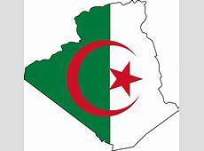 Flag And Map of Algieria • Mapsofnet