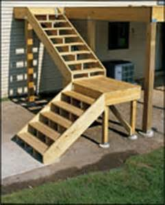 Wood Deck Railing by Deck Stairs Best Images Collections Hd For Gadget