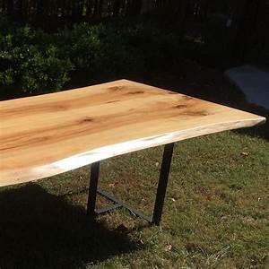 Live Edge Pecan Wood Table Horizon Home Furniture