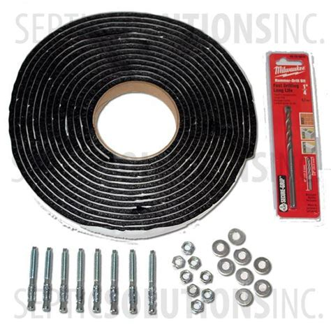 adapter installation anchor kit anchorkit  shipping
