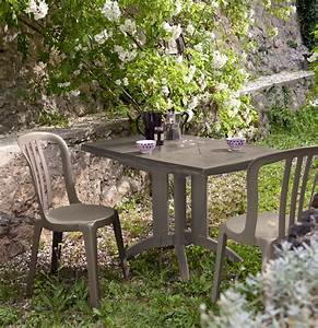 Salon De Jardin Taupe : salon de jardin table vega fuchsia 4 chaises miami pliantes fuchsia oogarden france ~ Teatrodelosmanantiales.com Idées de Décoration